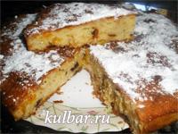Быстрый пирог на кефире с сухофруктами— дешево и вкусно!