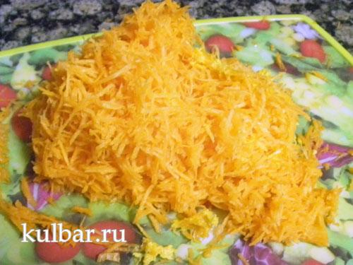 морковка натертая