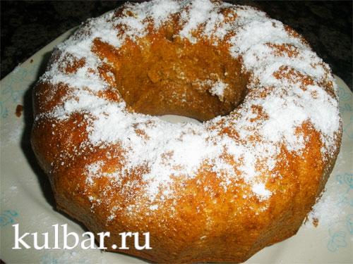 морковный пирог готовый